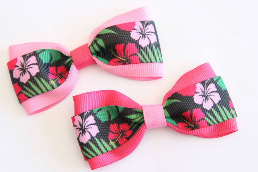 Big Beautiful Bows - Tropical Deluxe