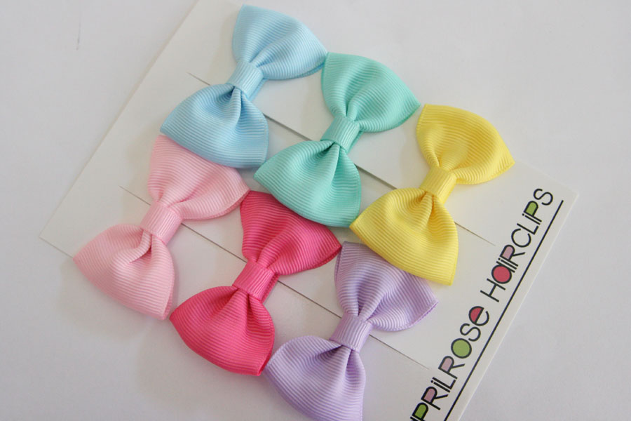 Pastel Bow Sets - Big Beautiful Bows