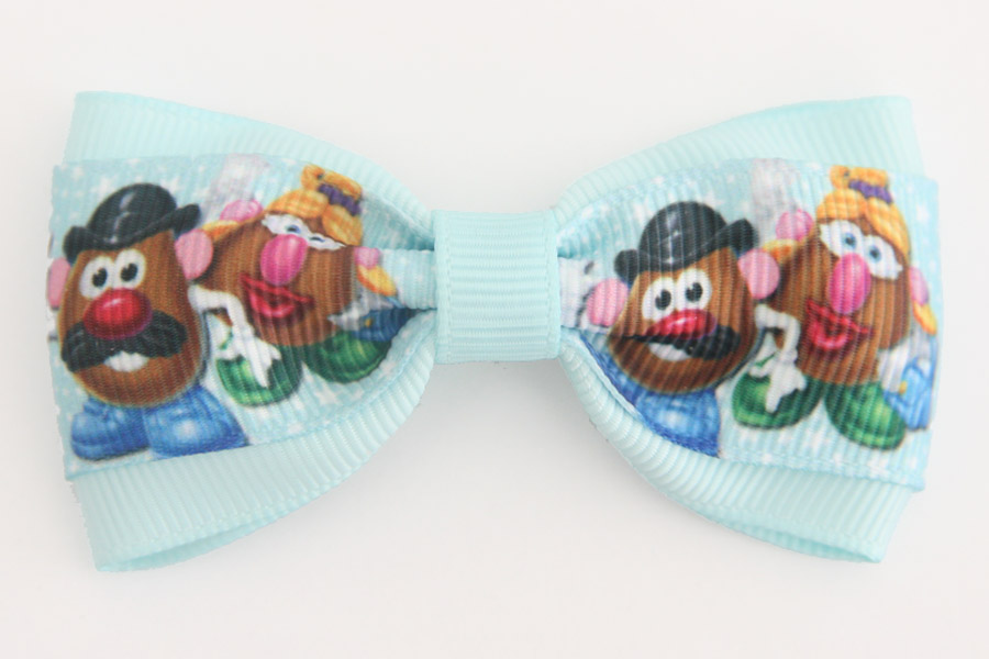 Mr & Mrs Potato Head Deluxe Bow