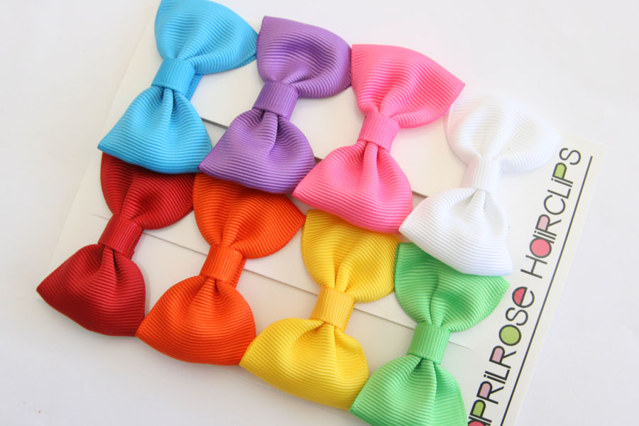 Big Beautiful Bows RAINBOW Set (8) - Click Image to Close