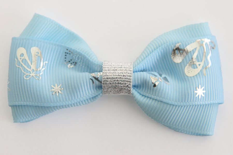 Ballet Silver Slippers Deluxe Bows