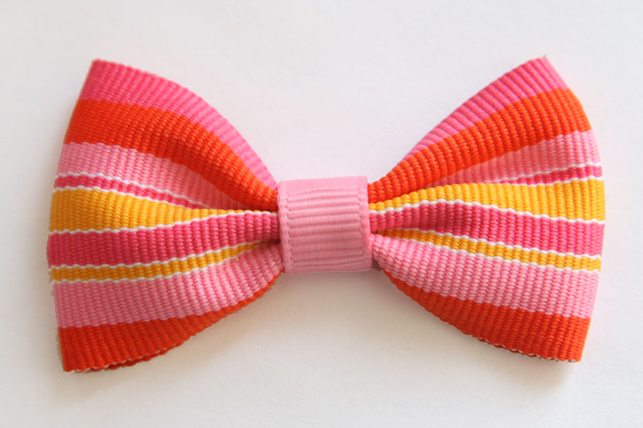 BIG Beautiful Bow - Summer Stripes