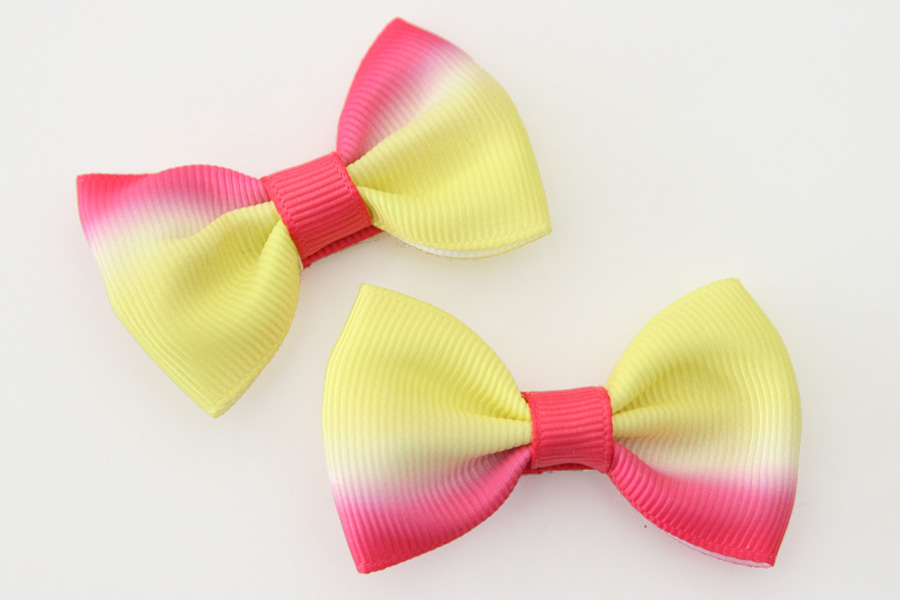 BIG Beautiful Bow - Sunset Ombre