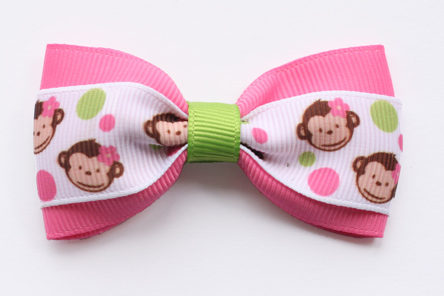 Cheeky Monkey Deluxe Bow
