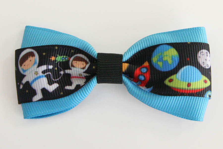 Space Girl/Astronauts Deluxe Bow