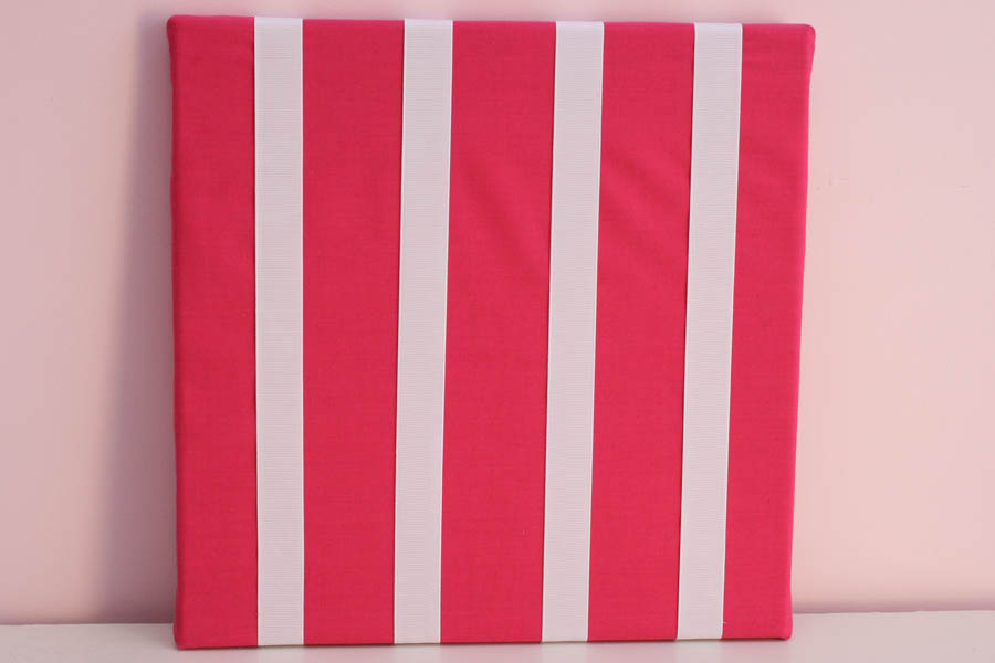 Solid Hot Pink Hairclip Board