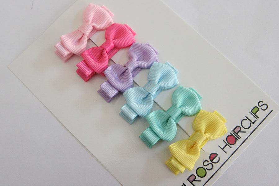 Pastel Bow Sets - Medium Beautiful Bows