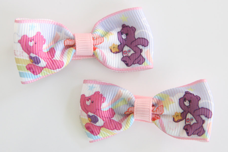 Care Bears Bow - Pink