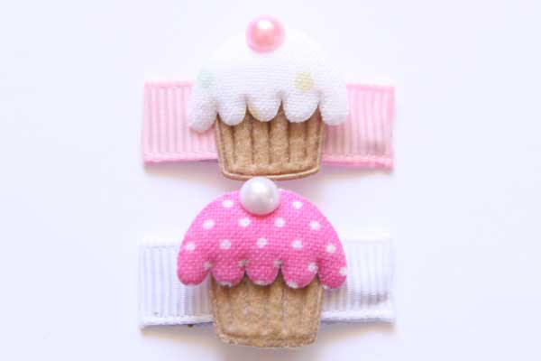 Baby Snap Clips Cupcakes