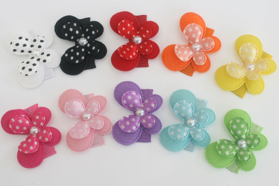 Baby Snap Clip Colourful Butterflies