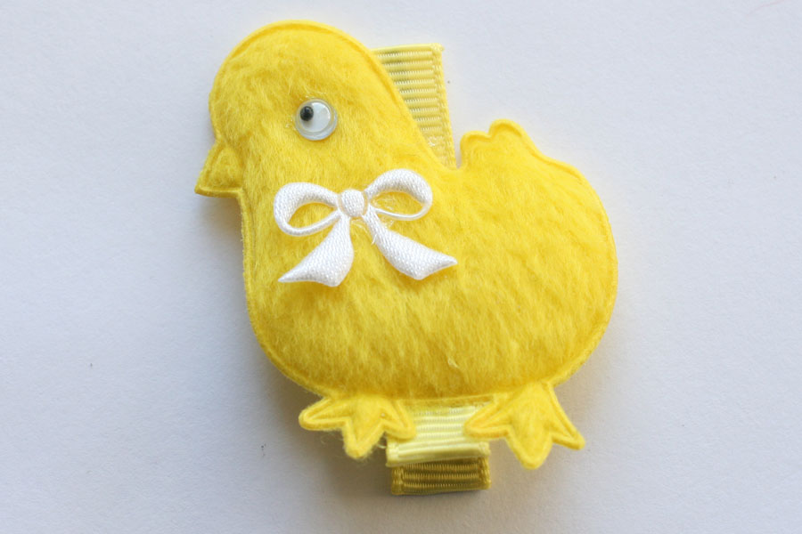 CC15032 Yellow Chicken Applique