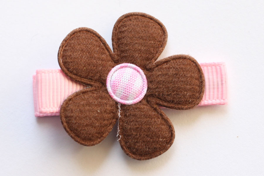 CC1506 Brown & Pink Flower