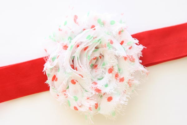 Christmas Headband Red Matte