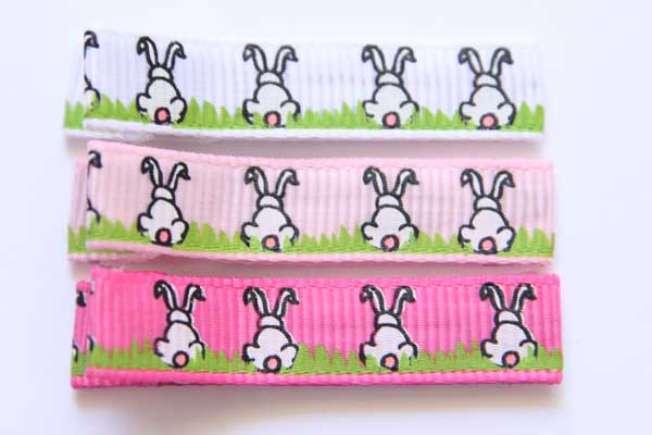 Easter Bunny Tails Clippies