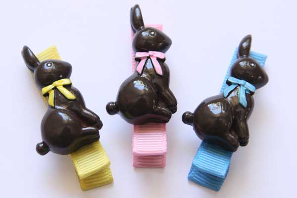 Easter Chocolate Bunny Resins