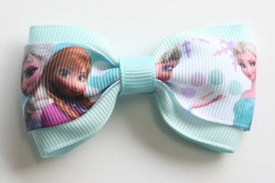 Frozen Deluxe Bow - Anna & Elsa - Click Image to Close