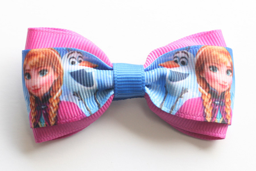 Frozen Deluxe Bow - Anna & Olaf