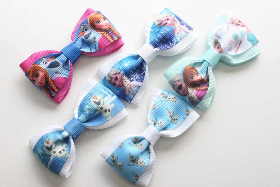 Frozen Deluxe Bow - Olaf Blue