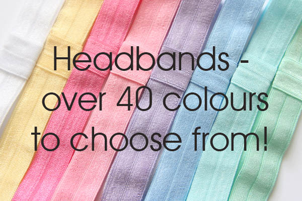 Headbands - Basic Colours