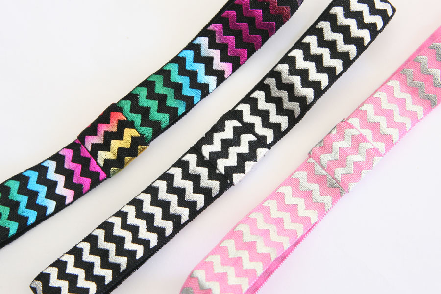 Headbands - Chevron Foil