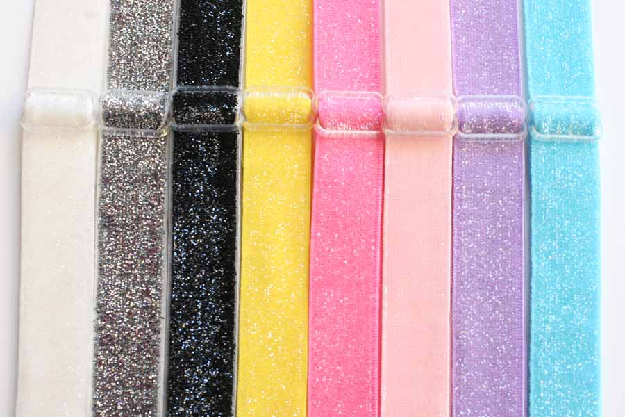 Adjustable Headbands - Glitter Effect WIDE