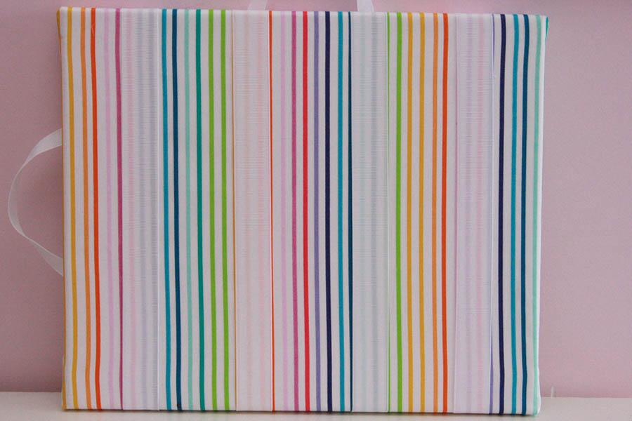 Rainbow Stripes Hairclip Board