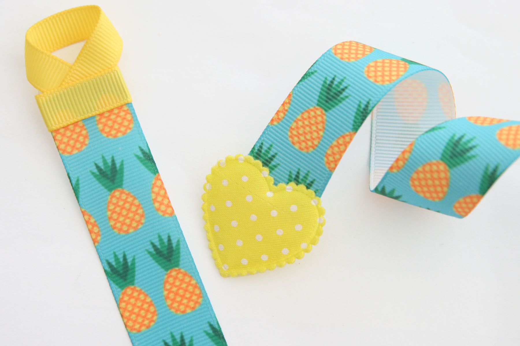 Basic Holder - Pineapple Print