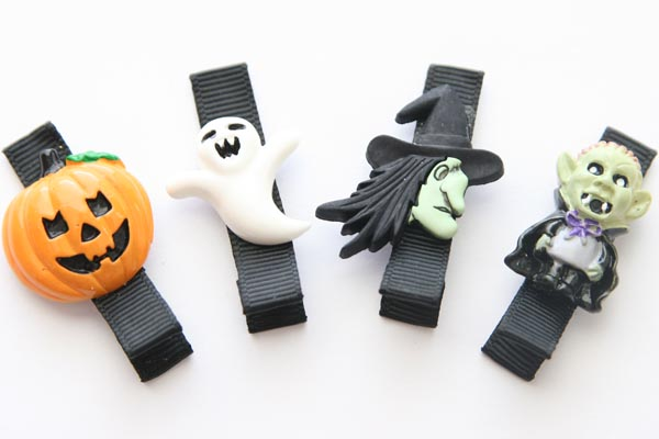 Halloween Resin Clips