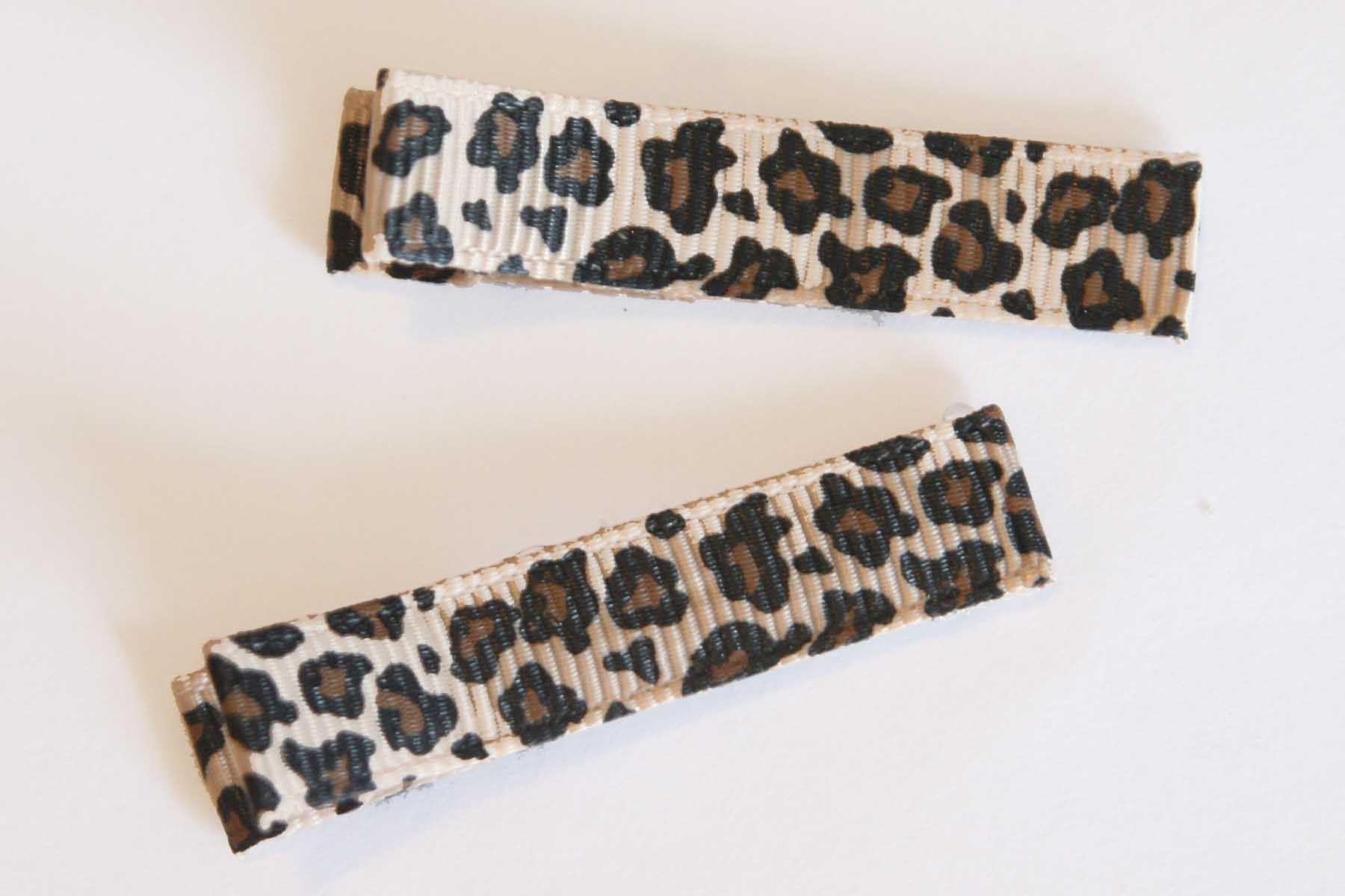 Animal Leopard Print Clippies