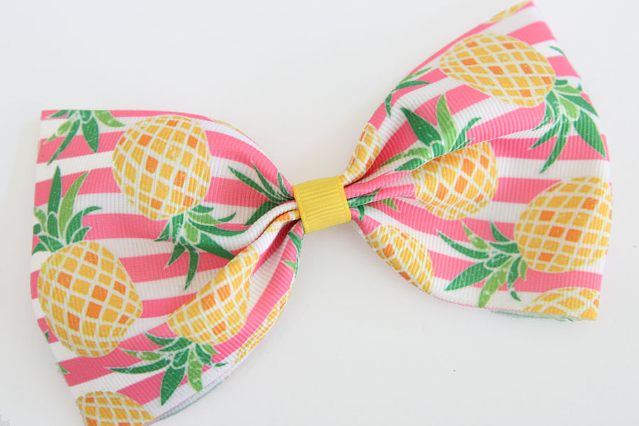 MEGA Summer Pineapple Bow