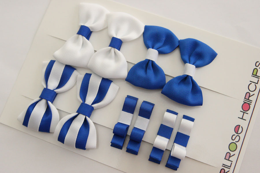 MTCC $25 set - blue & white