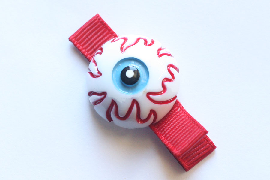 Halloween Zombie Eye Resin Clip