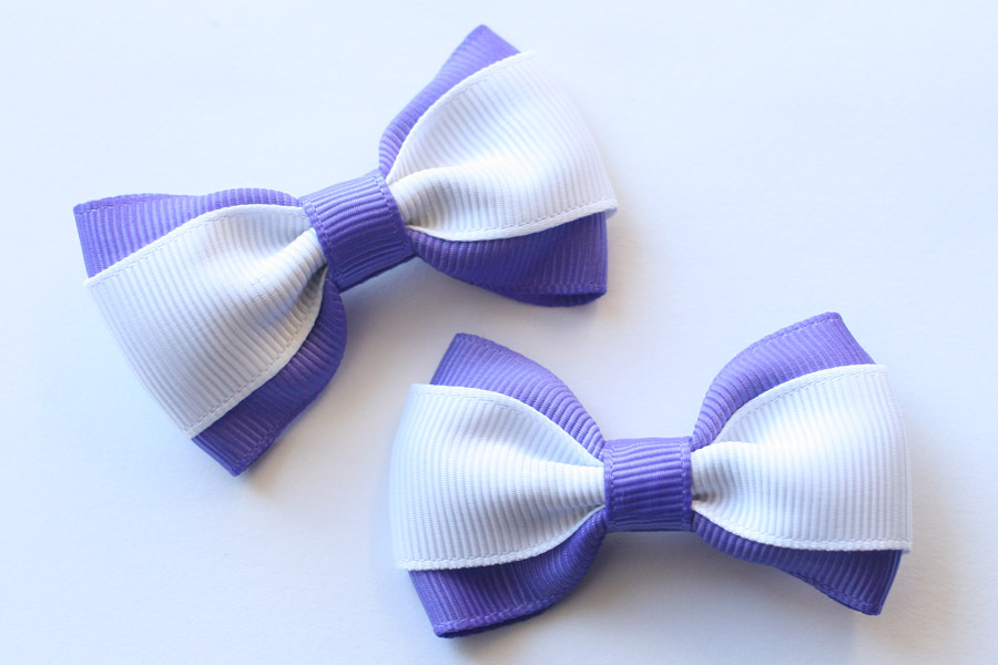 Double-layered Big Bows - Up to 3 colours!