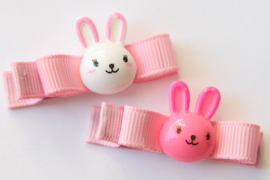 Easter Bunny Resin & Bow