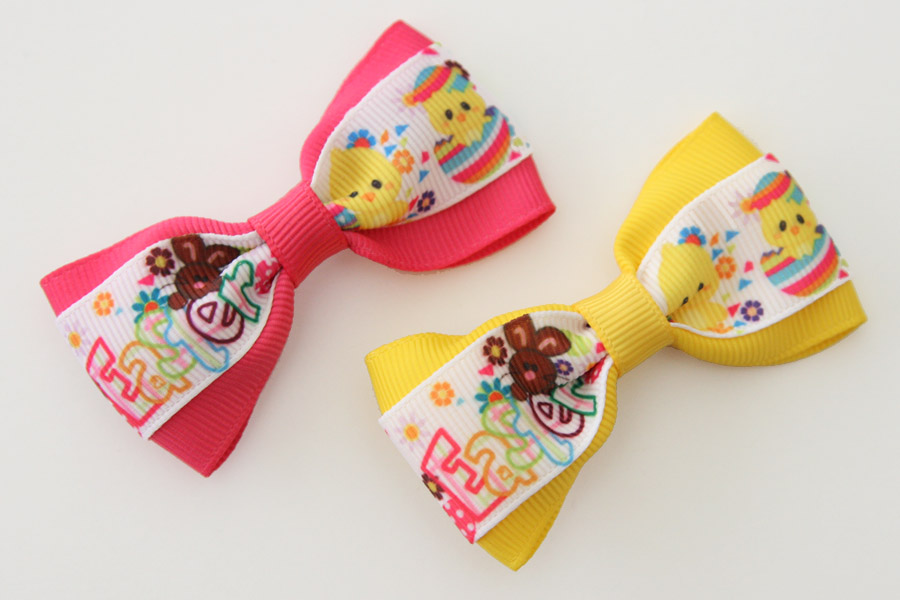 Deluxe Bright Easter Bow