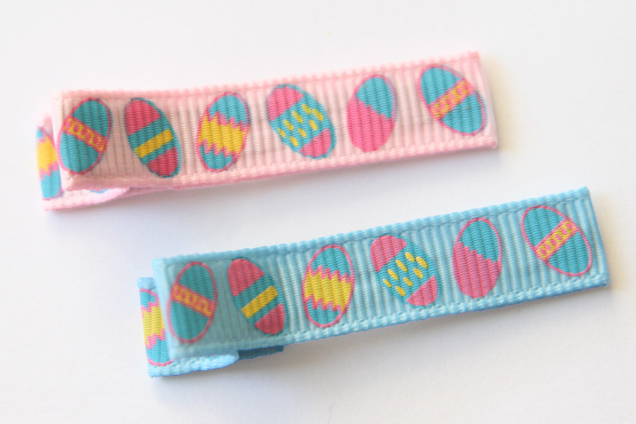 Easter Eggs Blues & Pinks Clippies