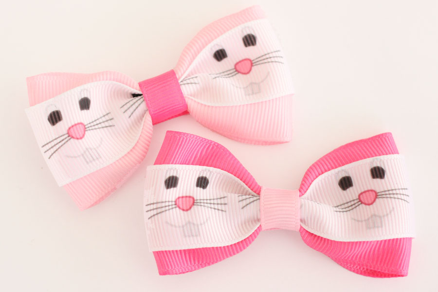 Deluxe Easter Bunny Bow