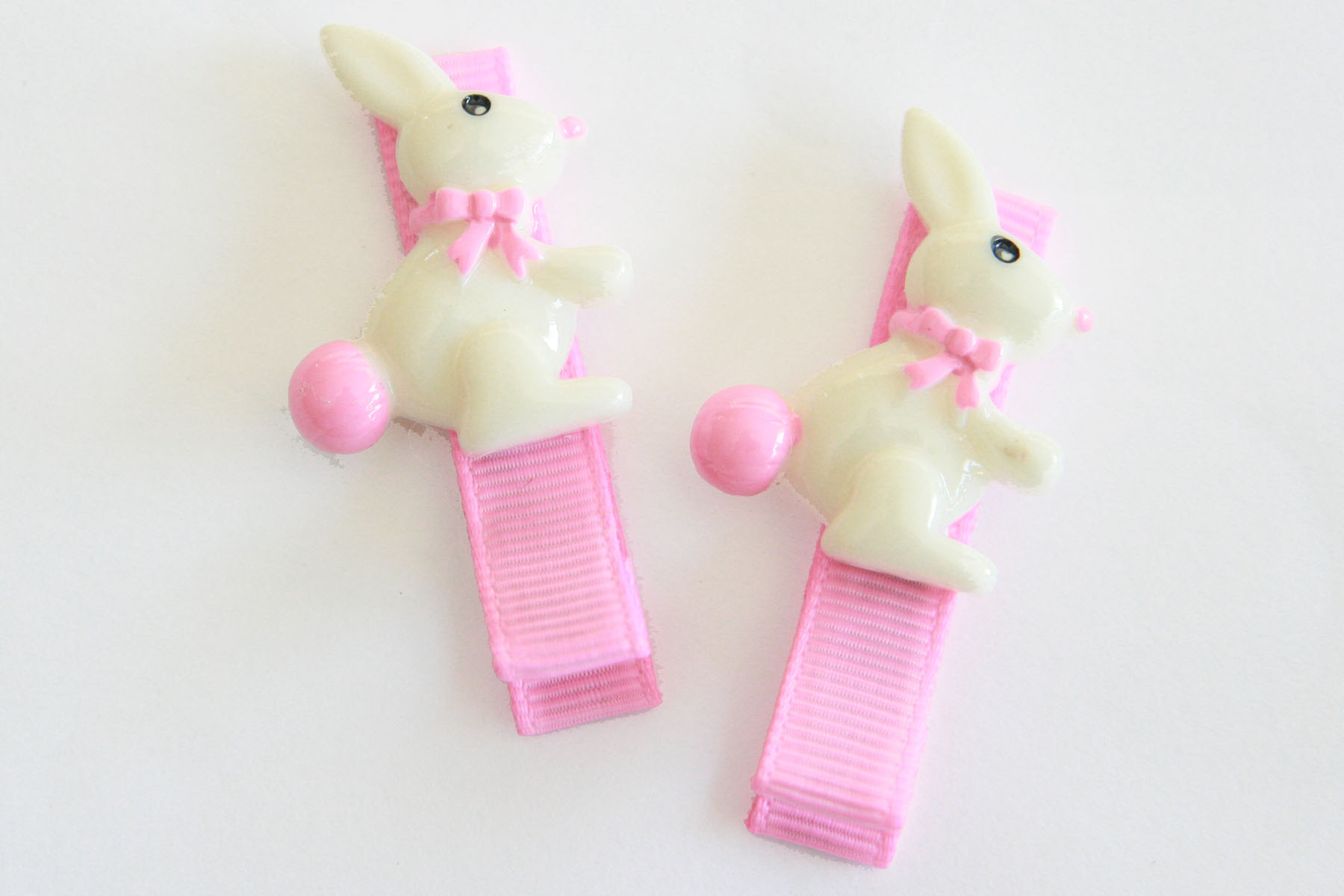 White Chocolate Bunny Clip