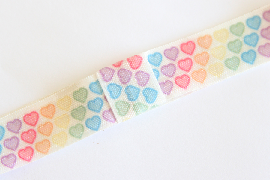 Valentines Day Headbands - Rainbow Hearts