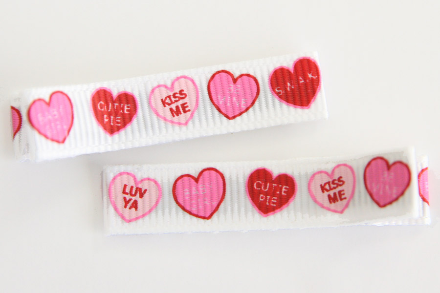 Valentines Day Candy Hearts Clip