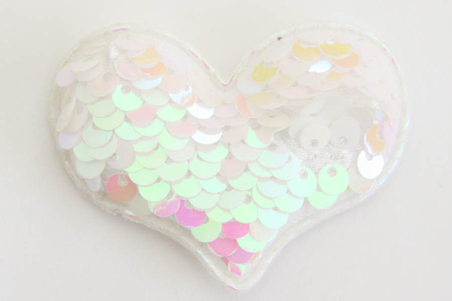 Valentines Day Large Sequin Hearts (Reversible)