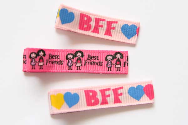 BFF - Best Friends Forever Clippies