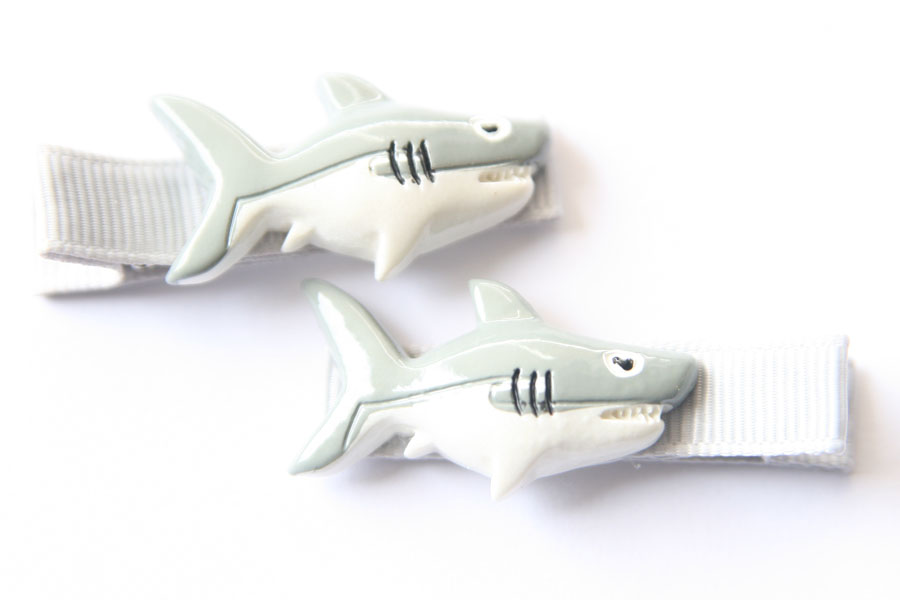 Bruce the Shark Resin Clip