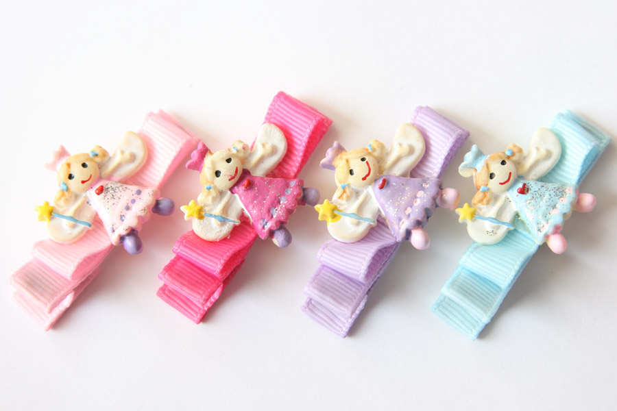 Fairies Resin & Bow