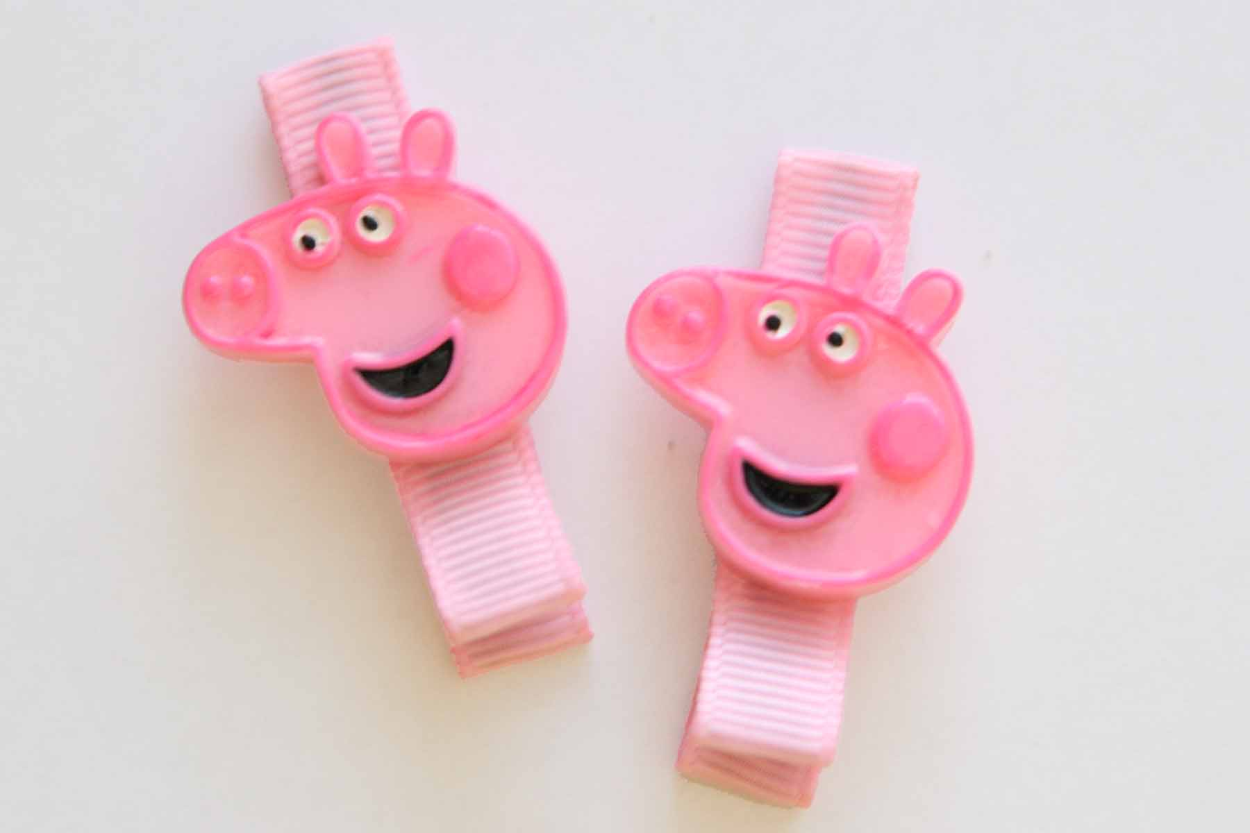 Peppa Pig Resin Clip