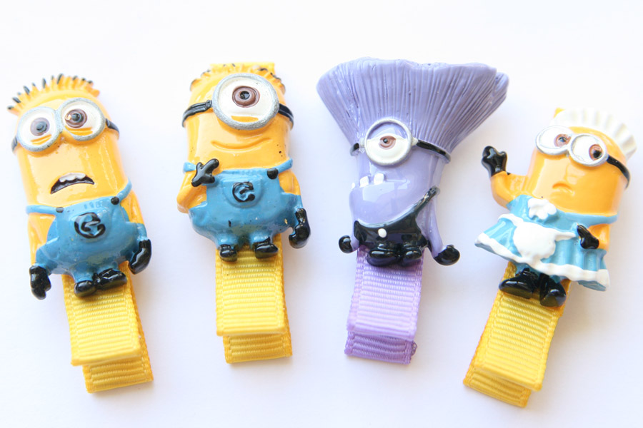 Minions Resin Clips