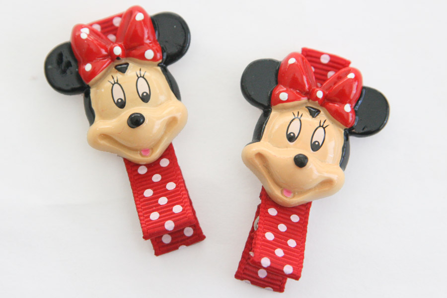 Minnie Mouse Resin Clip