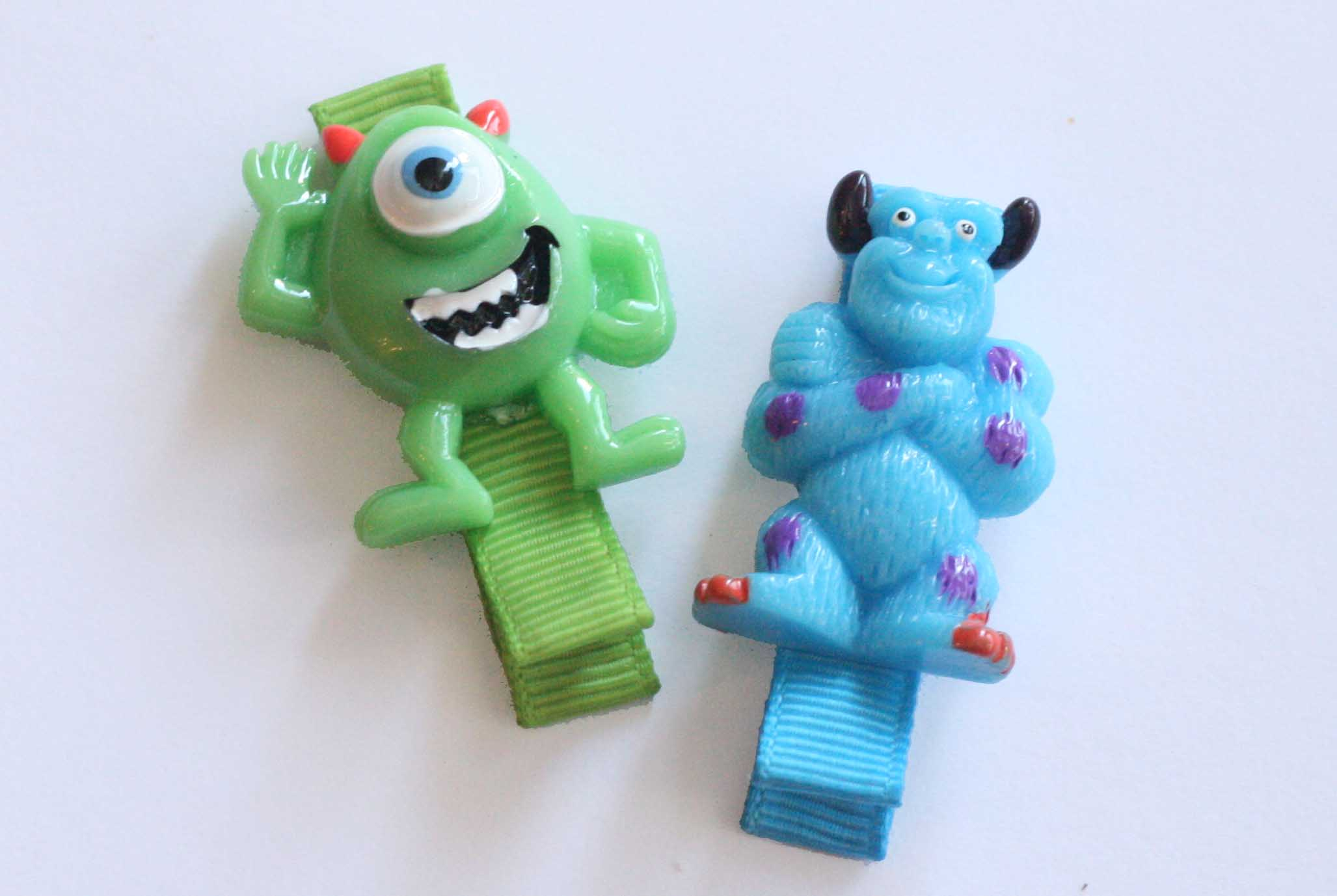 Monsters Inc - Mike Wazowski & Sully SET OF 2 CLIPS