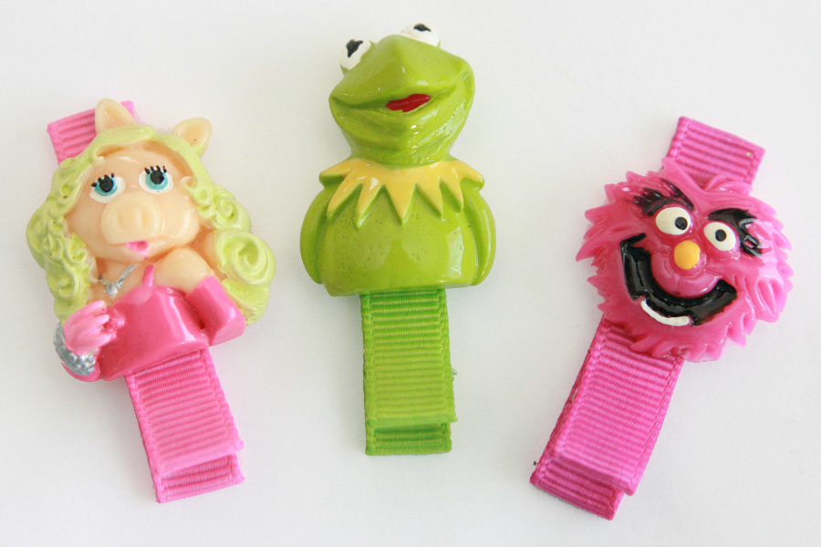 Muppets Resin Clips