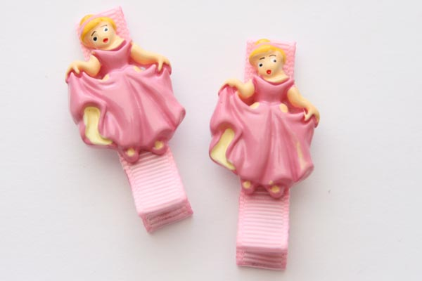 Dancing Princess Resin Clip